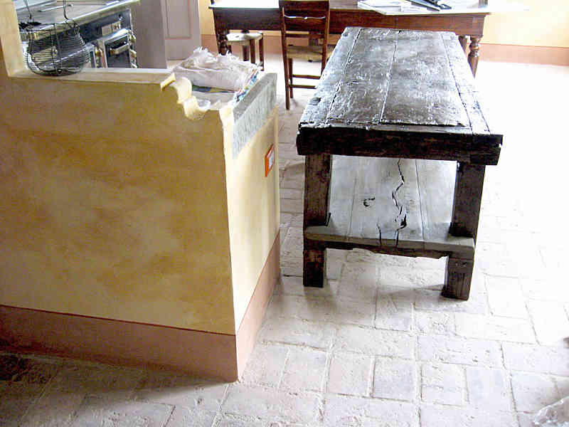 Tavoli Da Lavoro Vecchi : Banco da falegname antico restaurato portantica