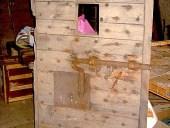 Porta di una cella (vista anteriore)