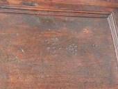 Dettaglio della patina originale