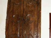 L'Antico stipo a muro a parete.