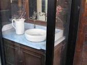 Antica toilette antica in noce in vendita
