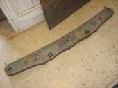 1) Testata antica di carro restaurata