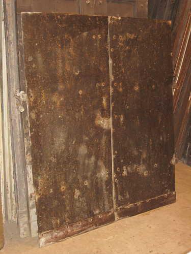 Porta in ferro antica