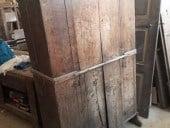 Antico armadietto da restaurare