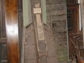 Custodia per contrabbasso completa di coperchio(chiusa).