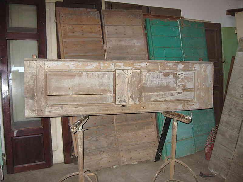 Testata Letto Porta Antica.Riuso Portone Antico In Testiere Da Letto Portantica