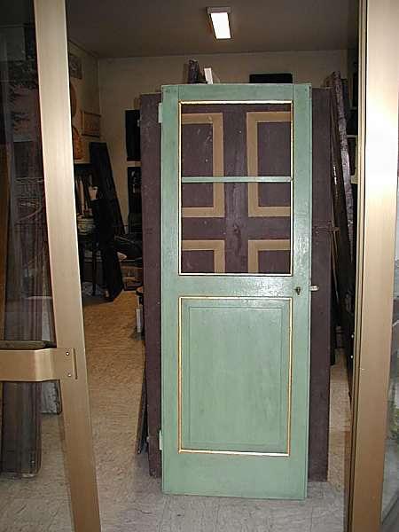 Vecchia porta a giorno laccata restaurata portantica - La vecchia porta ...