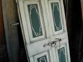Porta antica rustica laccata