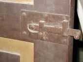 Dettaglio serratura antica originale