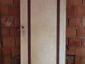 Porta antica laccata(vista anteriore)
