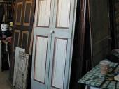 Porta restaurata e laccata