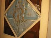 Il vetro antico fatto a mano dipinto