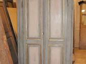 La porta antica liberty per la cabina armadio, ultimata.