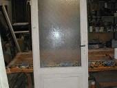 Vecchia porta prima del restauro.