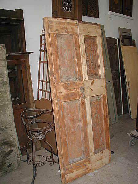 Porta vecchia antica laccata scorrevole portantica - La vecchia porta ...