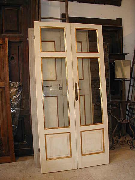 Porta antica laccata portantica - Porte laccate avorio ...