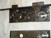 Serratura antica originale fatta a mano