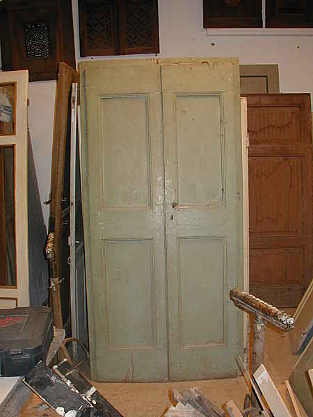 Porta vecchia trasformata in porta scorrevole | Portantica