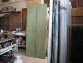 Vista posteriore della porta restaurata