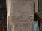 Porta rustica prima del restauro.