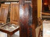 Un battente della porticina antica.