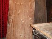 Vecchia Porta a tagliere(vista posteriore).