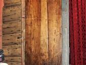 Porta antica rustica fatta a mano restaurata