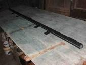 Trasformare porta battente in scorrevole; parte del kit di trasformazione della porta in scorrevole
