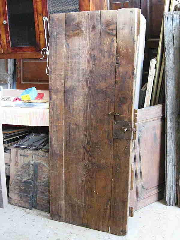 Coppia porte antiche materiche rustiche | Portantica