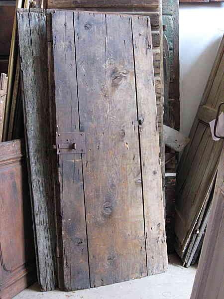 Vista posteriore dell'altra porta