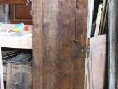 Facciata posteriore porta antica rustica