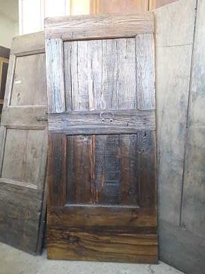 Porta antica rustica restaurata(vista interna)