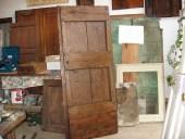 Porta antica rustica restaurata
