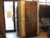 Porta vecchia castagno; pronta restaurata ed allungata...
