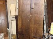 Porta rustica fatta a mano restaurata