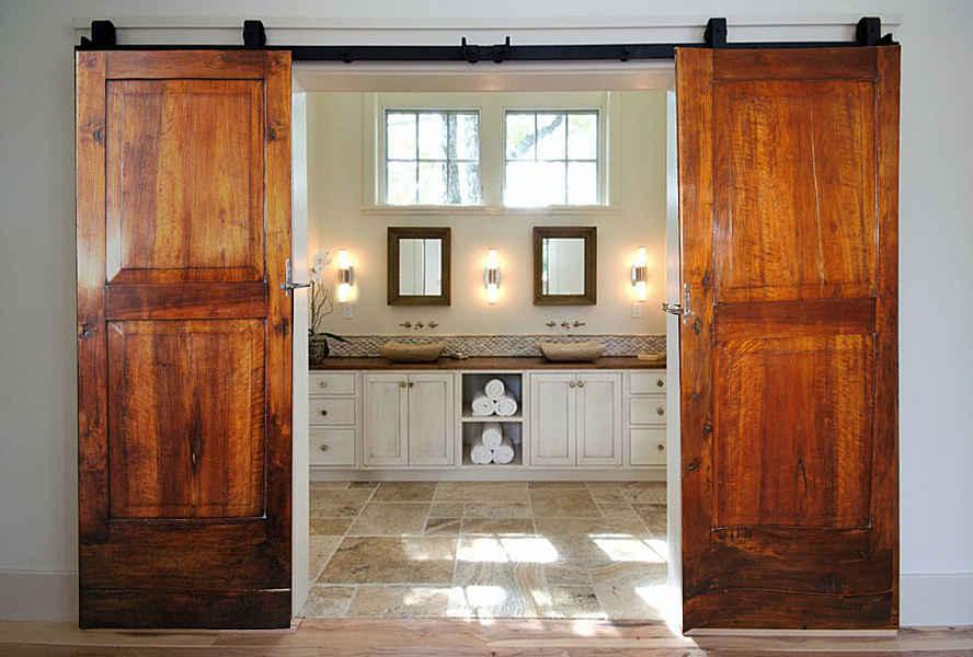 Souvent Coppia di porte antiche noce anche scorrevoli | Portantica HE67