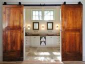 Composizione fotografica delle 2 porte come porte scorrevoli