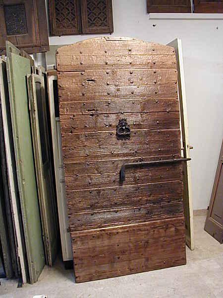 Popolare Porte e Portoni vecchi ed antichi per arredare | Portantica BN14