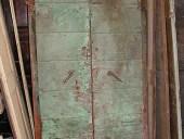 4) Altro portoncino materico antico da restaurare