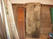 9) Porta antica del ' 600 prima di metterci le mani