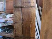 9) Porta antica trasformata in scorrevole(posteriormente)