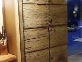 1) Portone antico restaurato e collocato.