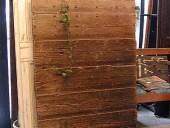 3) L'altra vista dello splendido portone antico del ' 600
