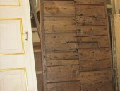 L'Antico portoncino toscano fatto a mano restaurato