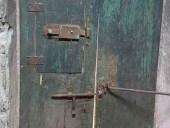Portoncino antico arredamento interni, lato posterioreLato posteriore