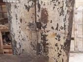 Vista posteriore portone prima del restauro