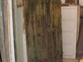 Portone antico scorrevole facciata posteriore