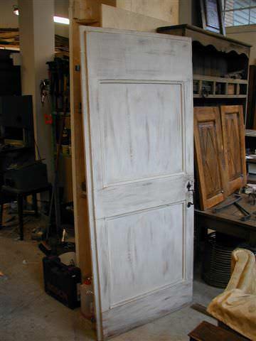 Vecchia porta riusata e trasformata in decap portantica - Porte shabby chic ...