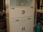 1) Credenza da cucina da finire in Shabby.