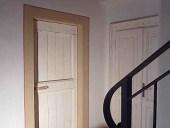 La porta antica liberty shabbata e collocata.